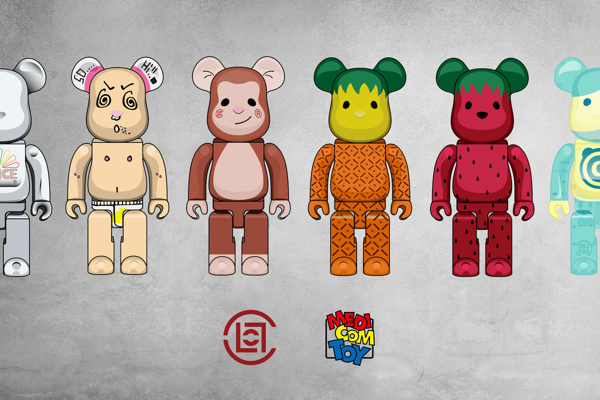 CLOT x MEDICOM TOY: A History of Collaborative BE@RBRICKs