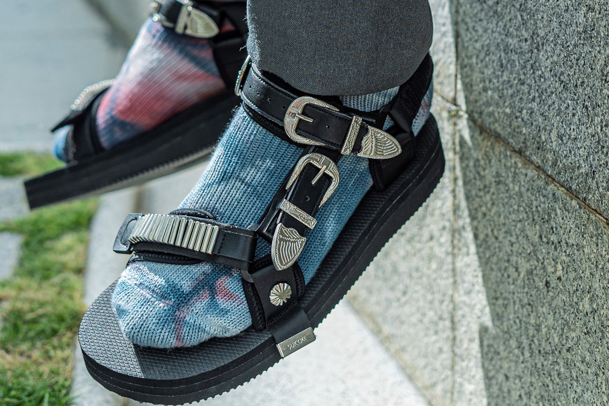 SUICOKE and TOGA release collaborative sandals for summer 2020
