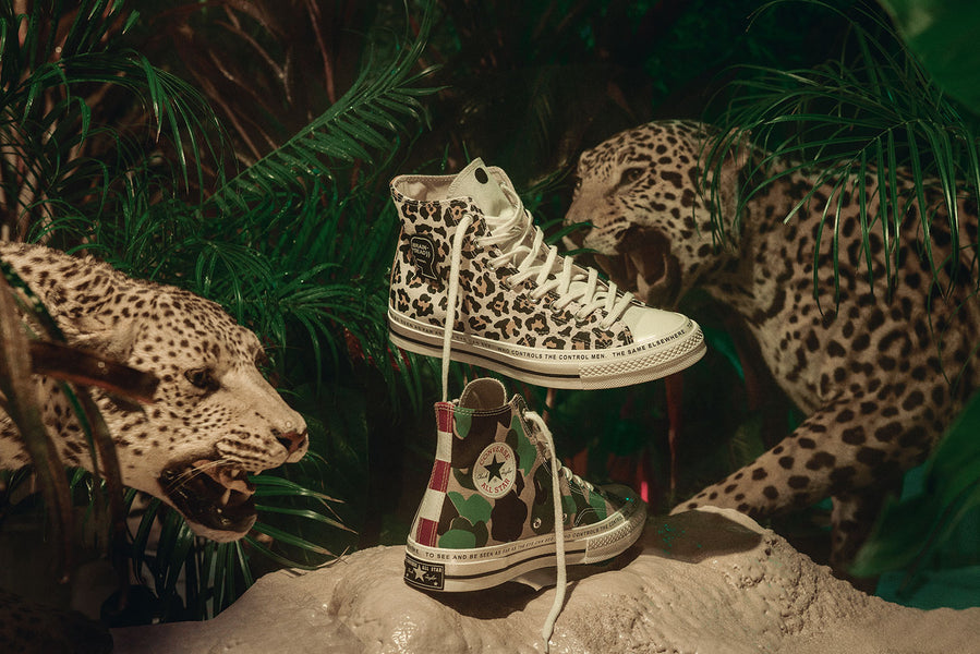Brain Dead Links Up with Converse on Apparel and Footwear Collection