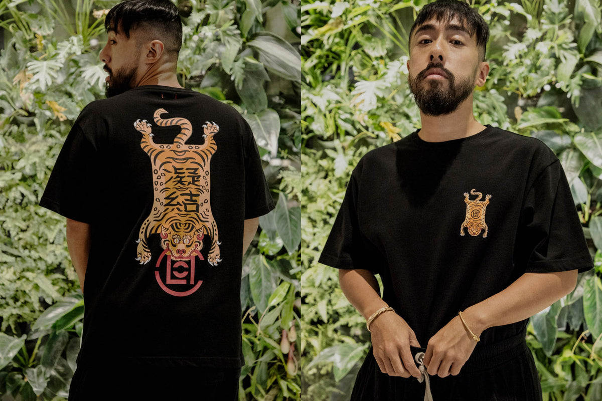 Celebrate the launch of JUICE's WeChat Mini Program with The Exclusive CLOT Tiger T-Shirt!