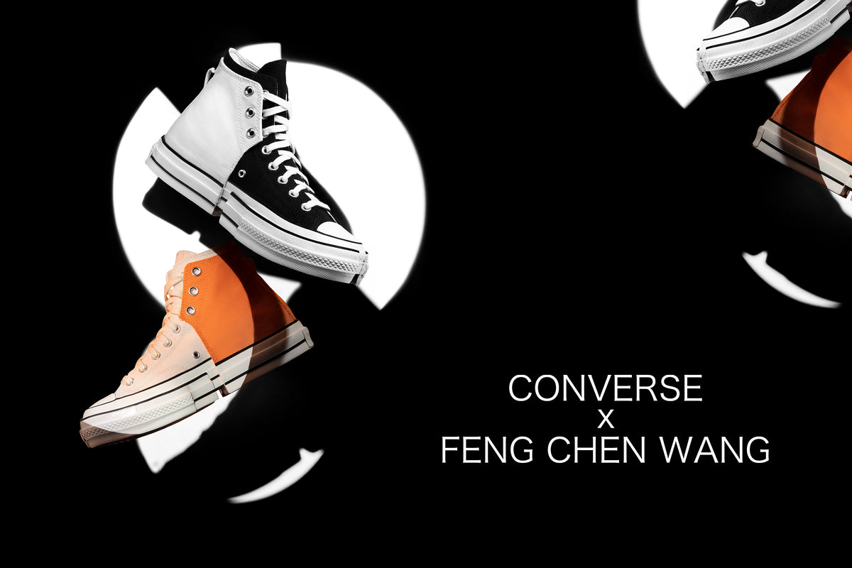 Converse's Latest Collab with Illustrious Designer Feng Chen Wang explores technichal deconstruction at its finest.