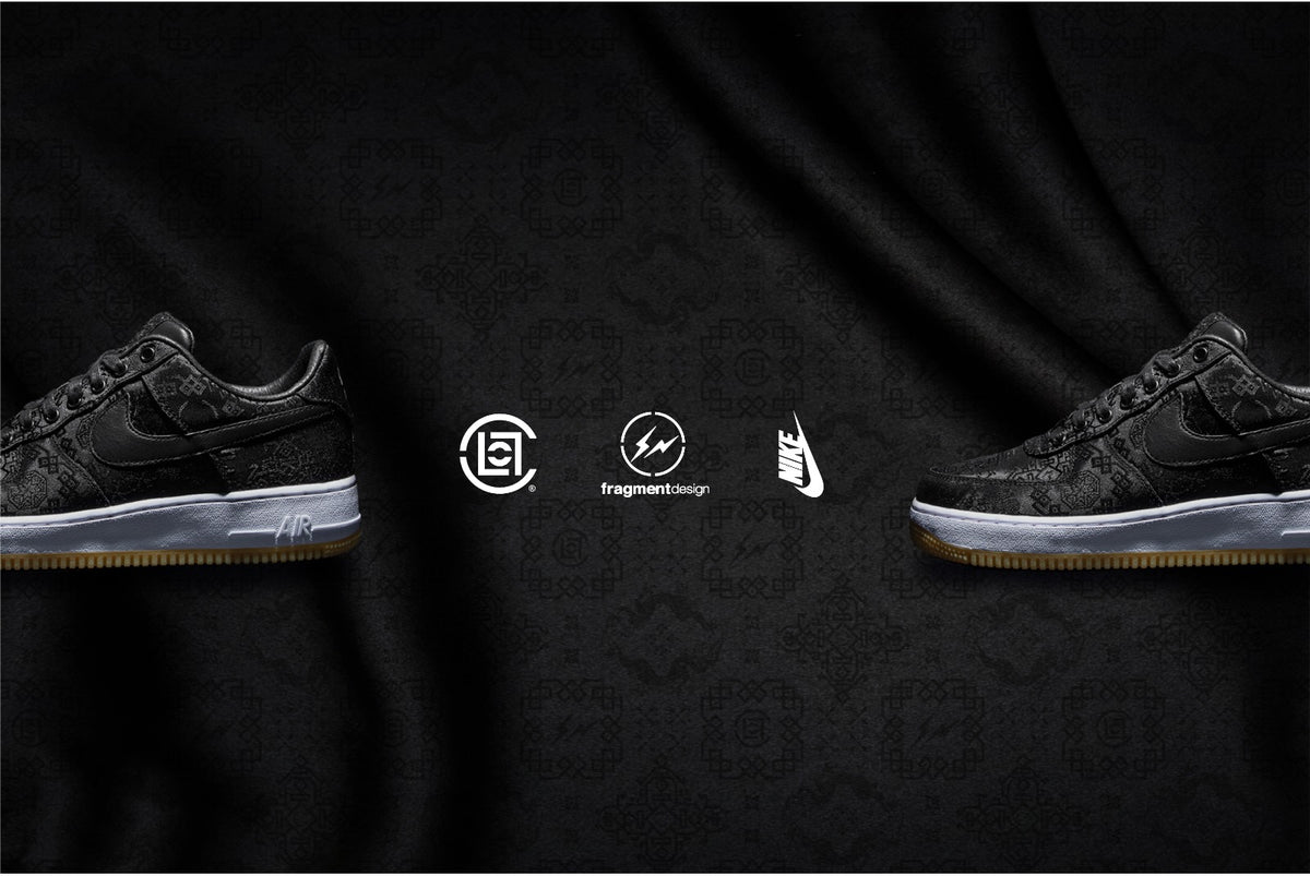 Download Clot X Fragment Design X Nike Black Silk Air Force