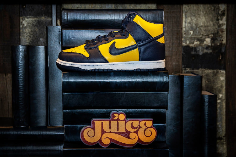 A Recap of the Nike Dunk High SP Michigan Release at JUICE!