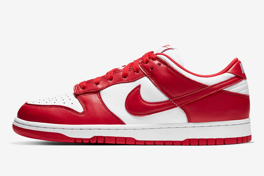 "RAFFLE: Nike Dunk Low SP ""University Red"""