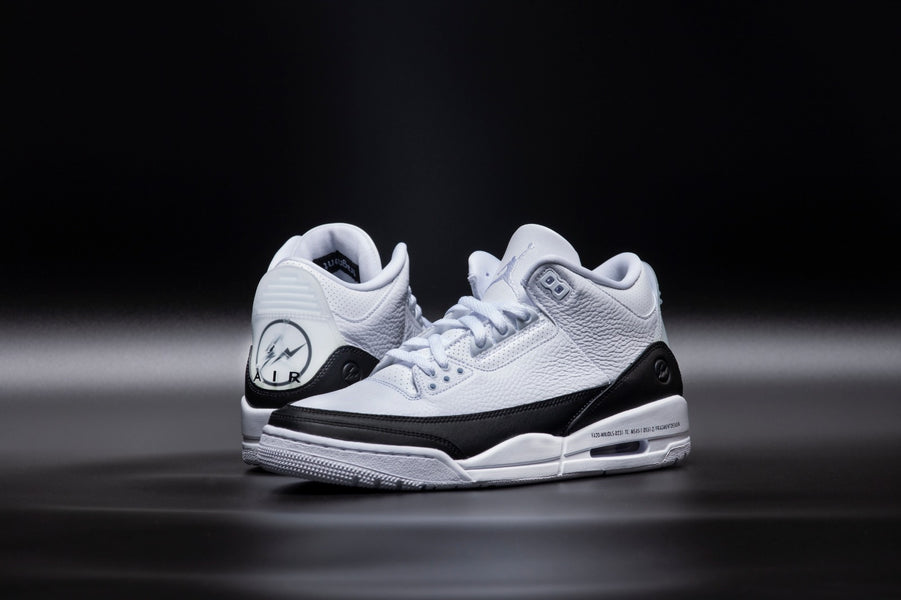 RAFFLE: Fragment Design x Air Jordan 3 Retro SP