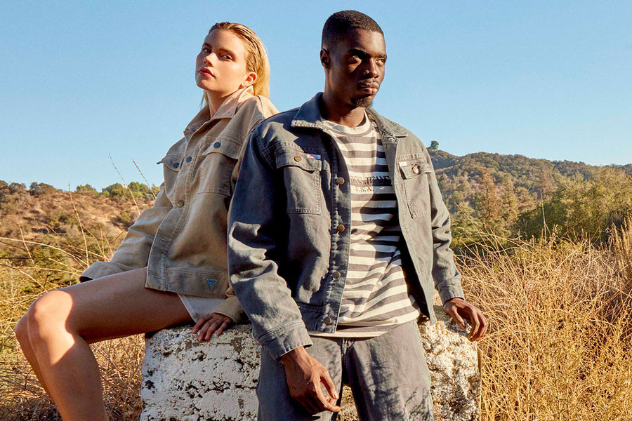 GUESS JEANS USA Presents Collaboration with Easy Otabor's Infinite Archives