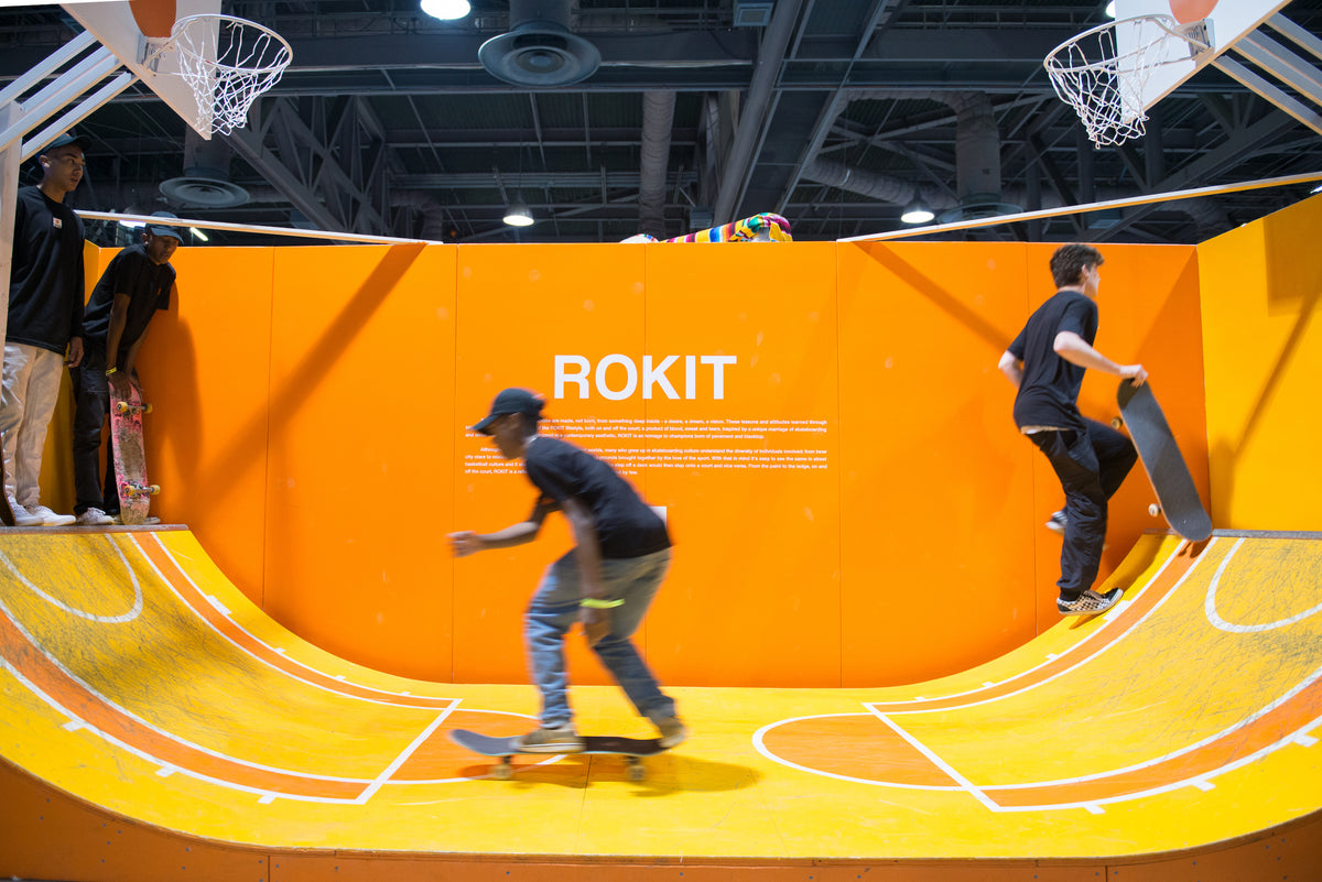Kickflips and Slam Dunks - ROKIT