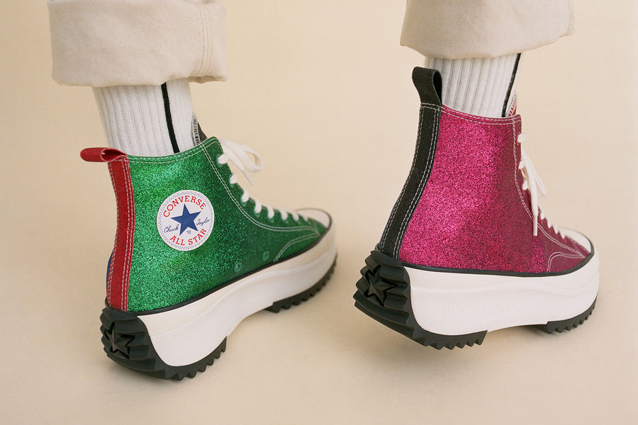 J.W. Anderson x Converse Returns With More Glitter Sneakers