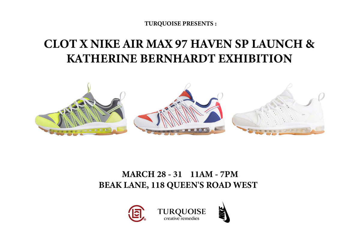 6d5c6a92b8b0 CLOT x Nike x Katherine Bernhardt Exclusive Pop-Up In Hong Kong ...