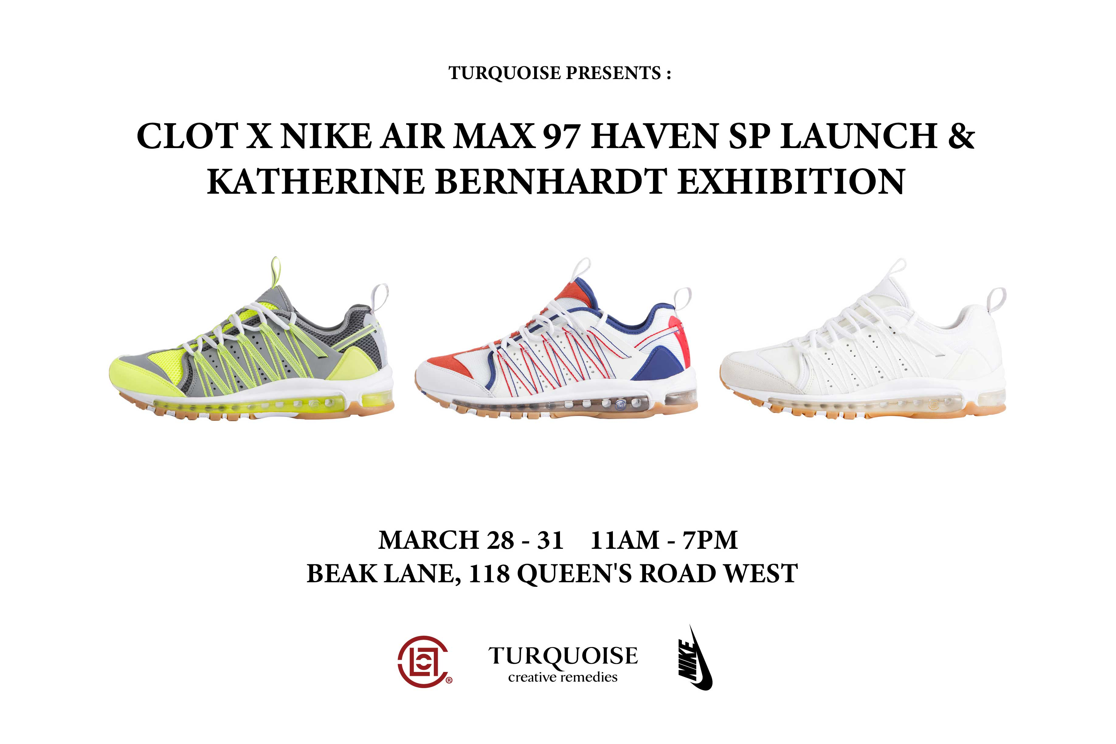 premium selection 304e8 b2177 CLOT x Nike x Katherine Bernhardt Exclusive Pop-Up In Hong Kong – JUICESTORE