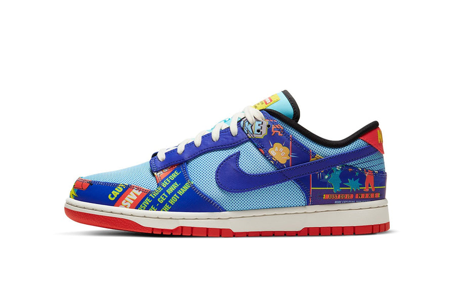 "RAFFLE: NIKE DUNK LOW RETRO ""COPA/HYPER BLUE-CHILE RED-SAIL"""
