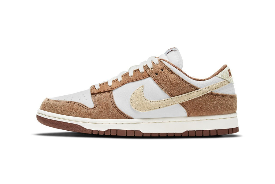 "RAFFLE: NIKE DUNK LOW RETRO ""SAIL/FOSSIL-MEDIUM CURRY"""