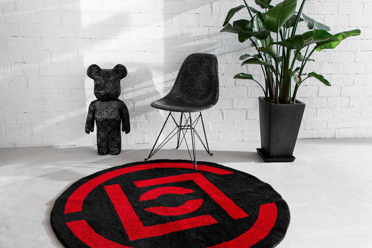CLOT TAPS GALLERY 1950 FOR CLASSIC CLOT LOGO RUG