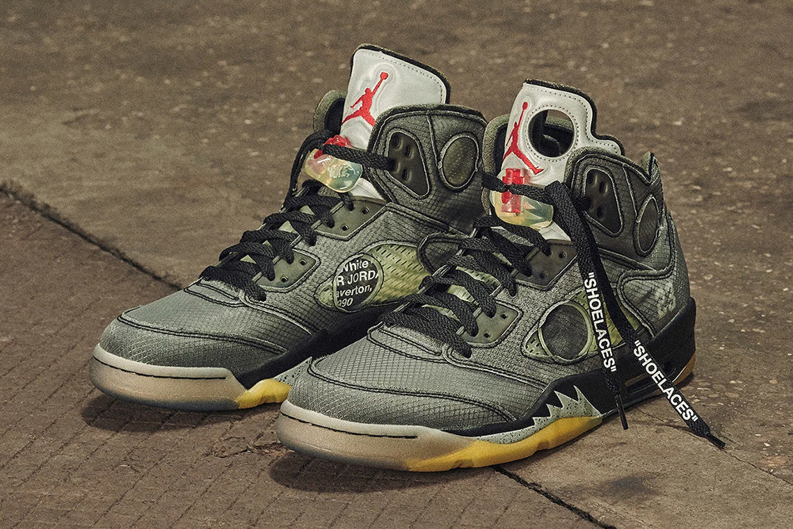 RAFFLE: OFF-WHITE x Air Jordan 5