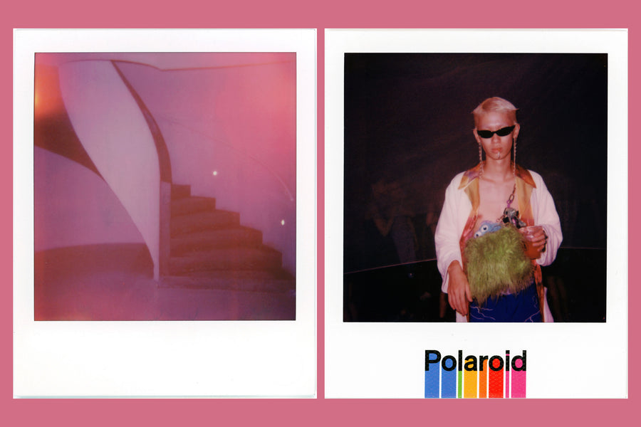 "Shuwei Liu for CLOT x Polaroid 600 ""ROSE GOLD SILK"" Camera"