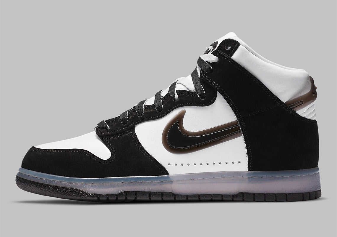 "RAFFLE: NIKE DUNK HIGH SLAM JAM ""WHITE/CLEAR-BLACK"""