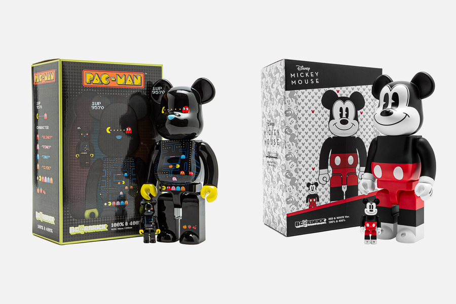 MEDICOM TOY RELEASES DISNEY AND PAC-MAN BE@RBRICK!