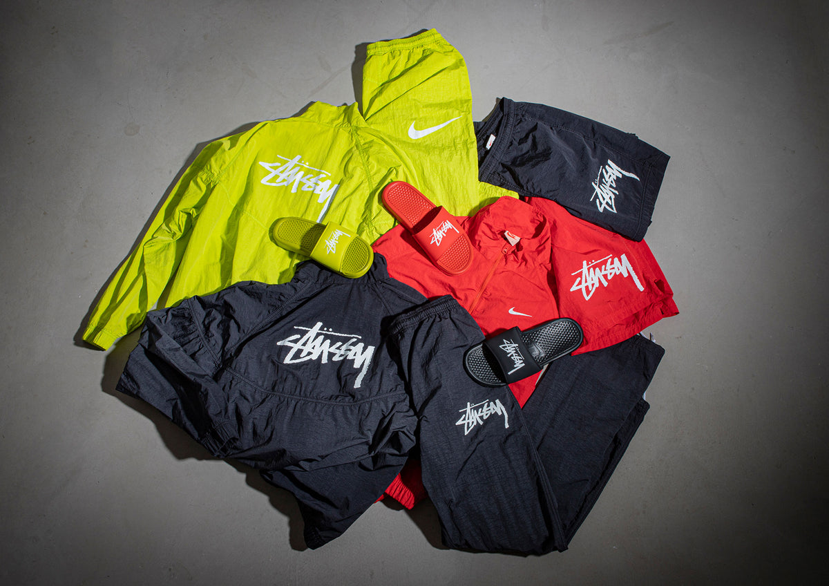 STÜSSY x Nike Leisurewear Collaboration at JUICE!