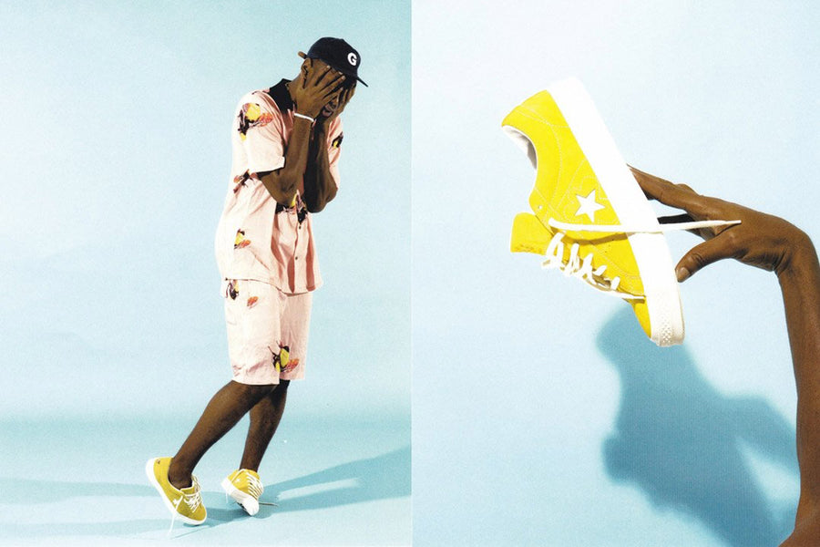 Tyler, The Creator x Converse One Star 'Golf le Fleur'