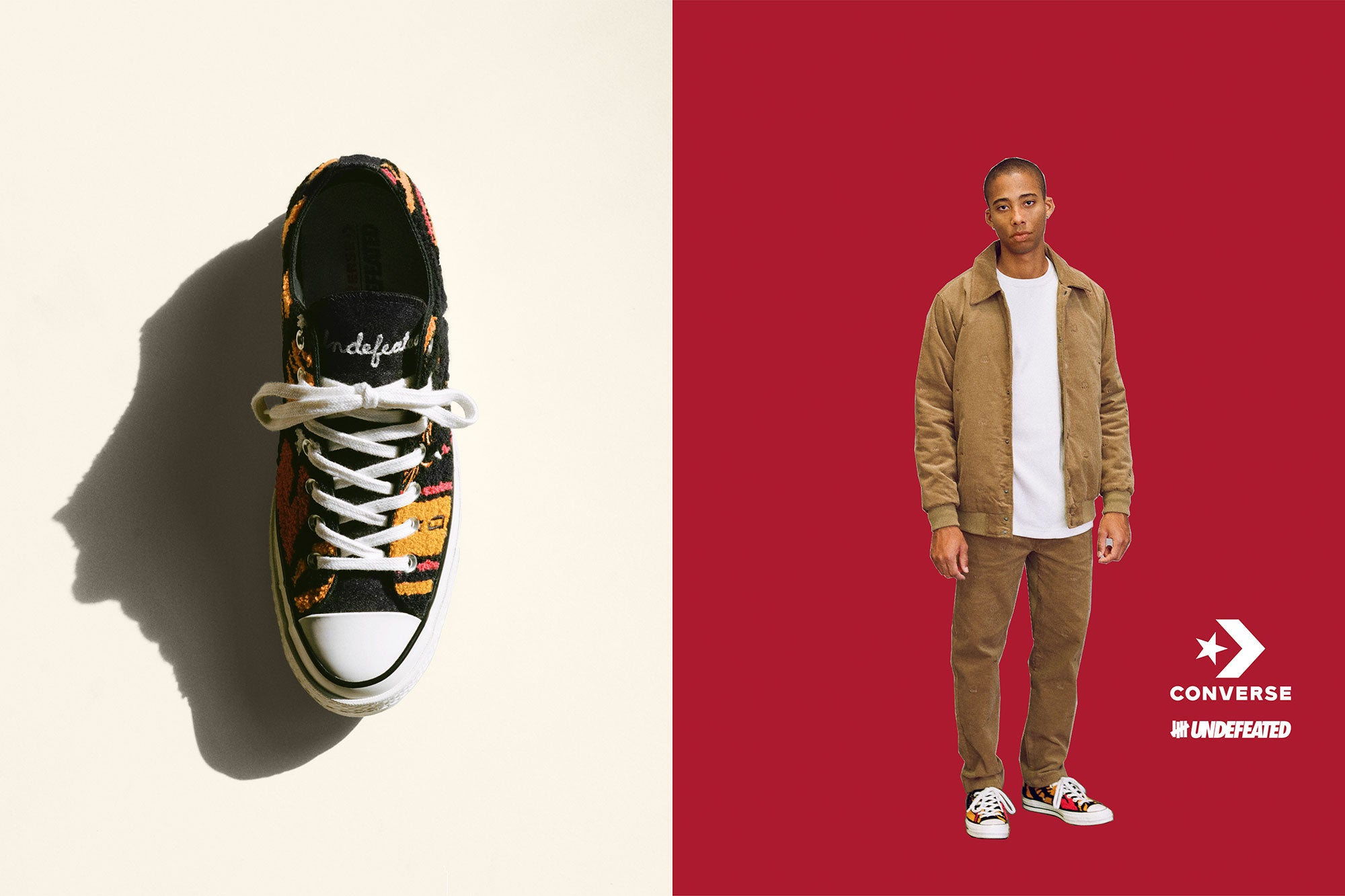 corazón Inspección pozo  UNDEFEATED Links Up With Converse on the Chuck '70 Ox – JUICESTORE