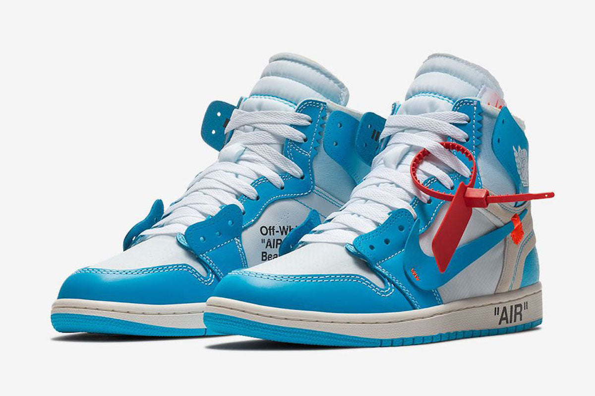 "Air Jordan 1 x OFF-WHITE ""UNC"""