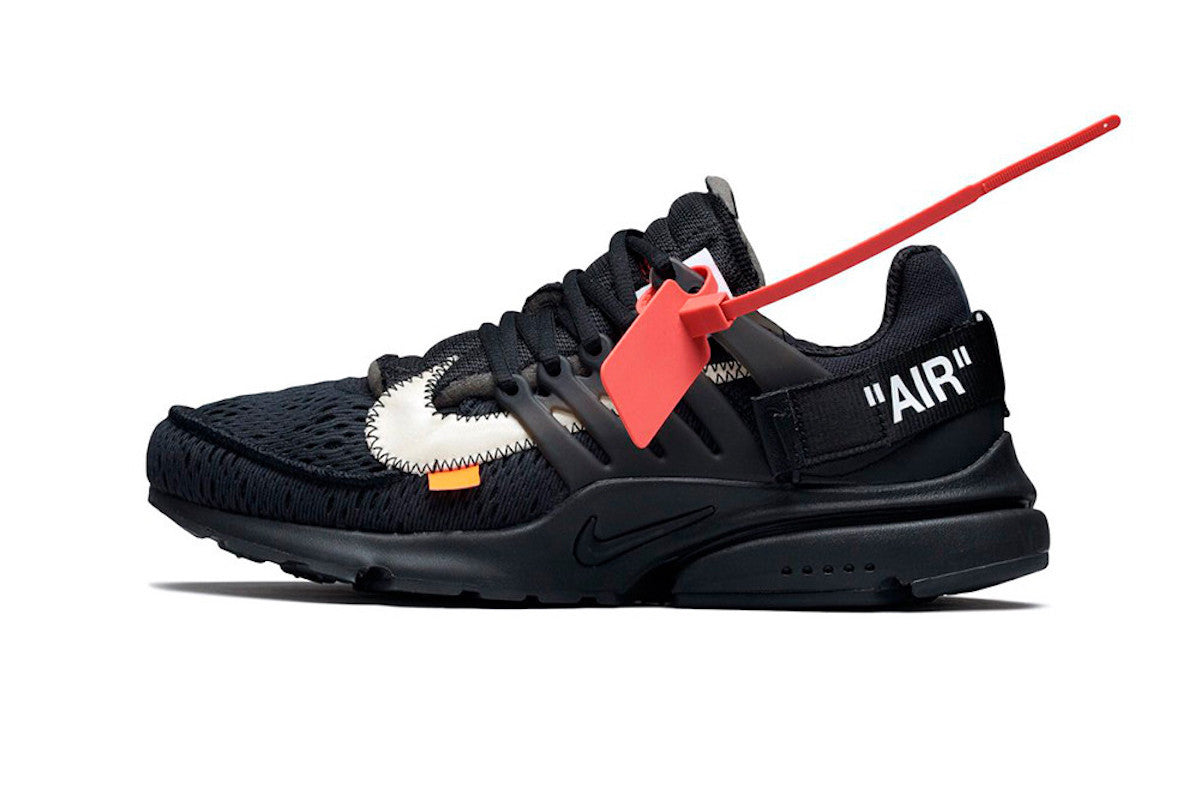 outlet online varietà di stili del 2019 migliore qualità Off-White x Nike Air Presto Black Raffle – JUICESTORE