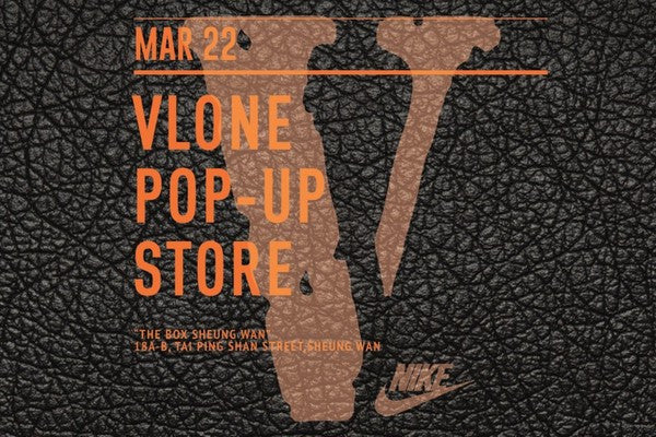 VLONE POP-UP STORE HAPPENING IN THE BOX SHEUNG WAN