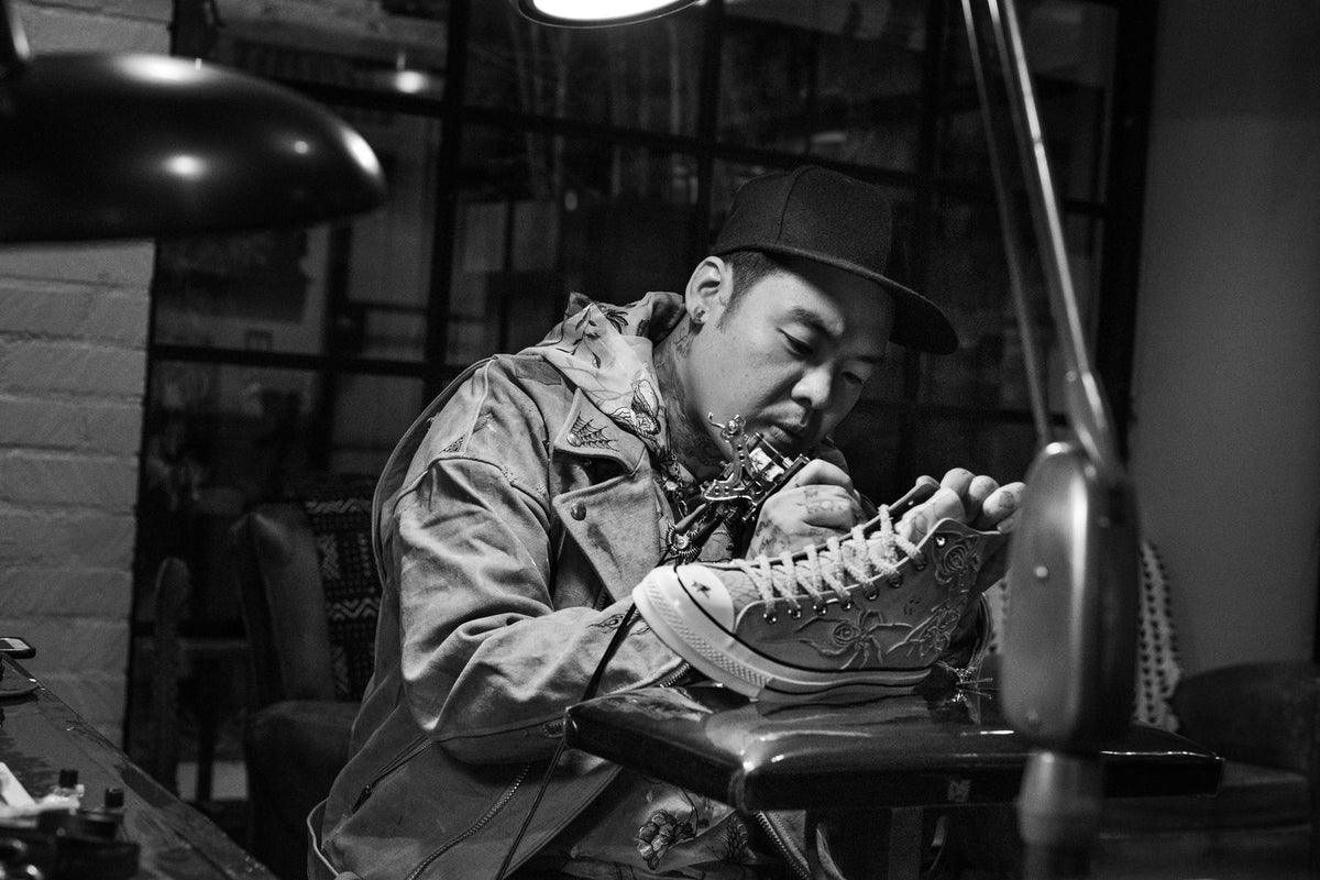 DR. WOO AND CONVERSE TAKE A NEW SPIN ON THE CHUCK 70s