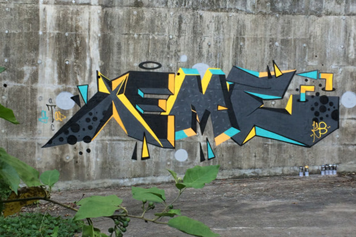 XEME: PIONEERING STREET ART IN HONG KONG