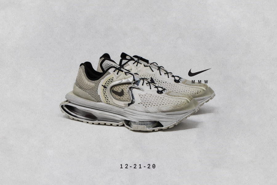 "RAFFLE NOW LIVE: NIKE ZOOM MMW 4 ""STONE/BLACK-CHROME"""