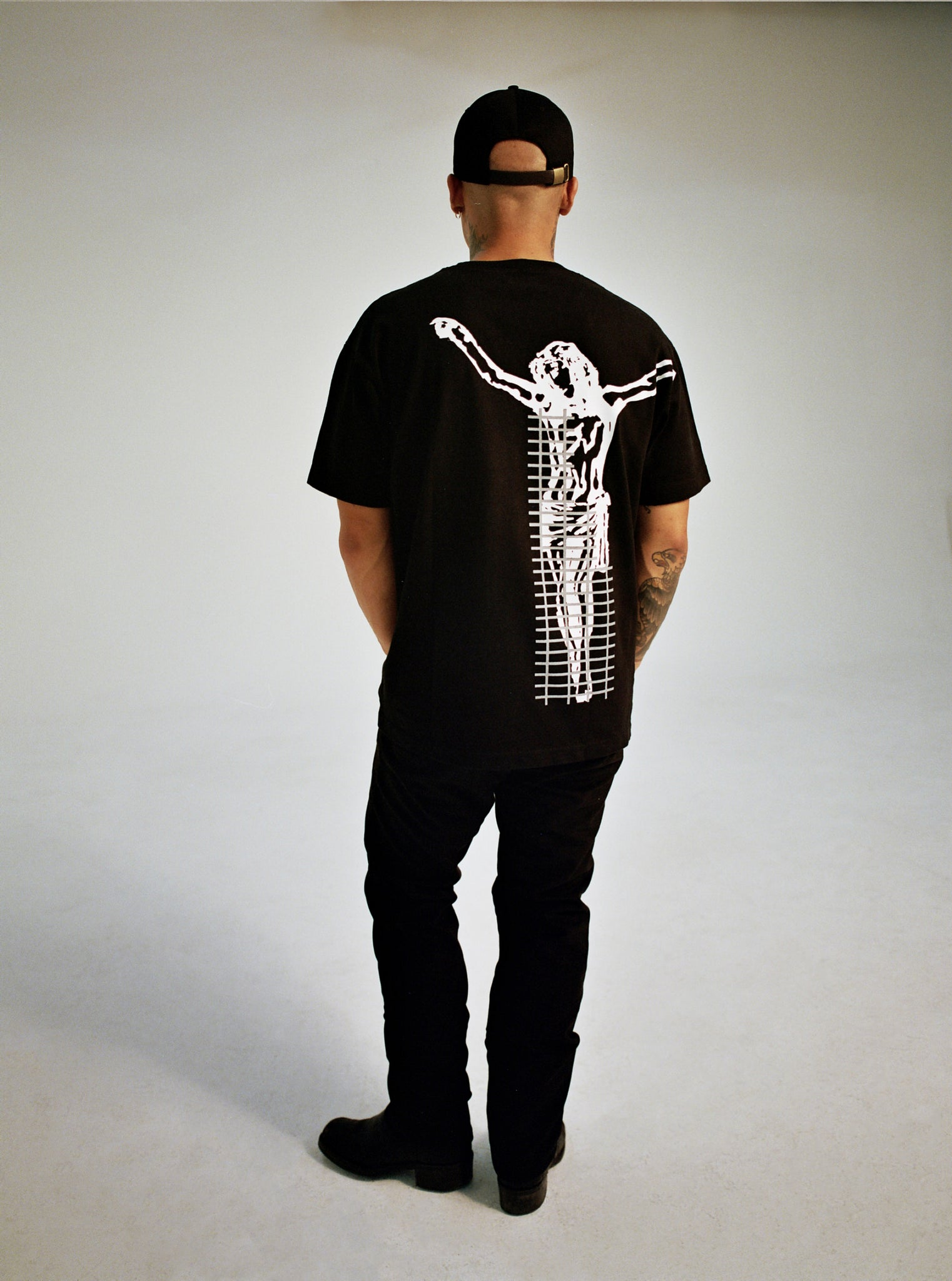 BLACK SCAFFOLDING TEE SELECTS BACK