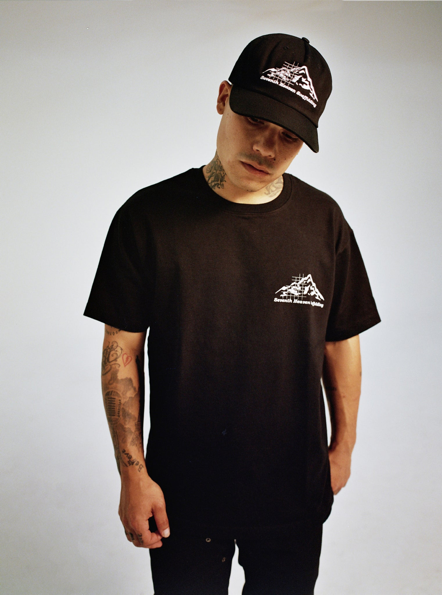 BLACK SCAFFOLDING TEE SELECTS FRONT