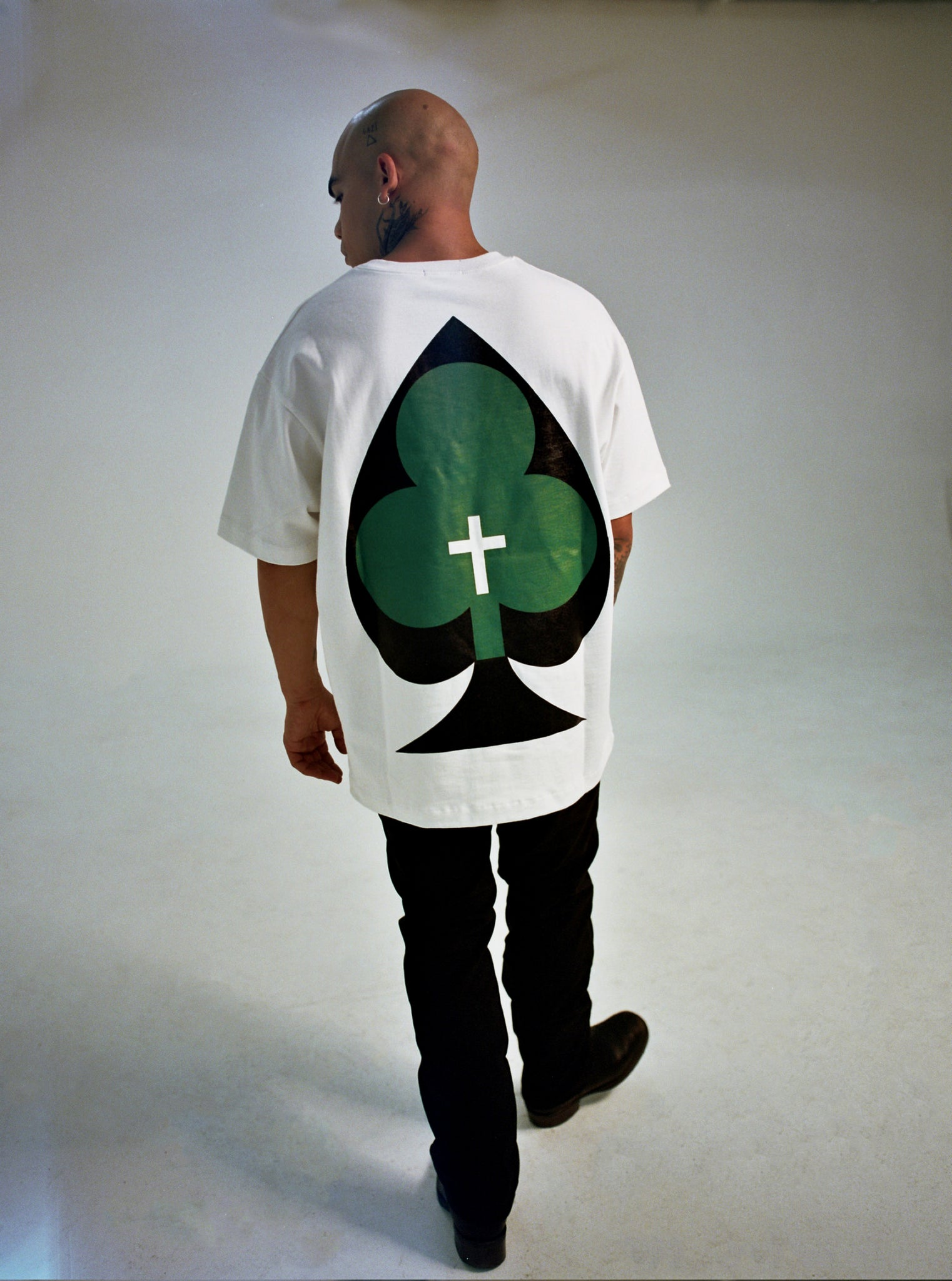 SEVENTH HEAVEN FALL WINTER 2020 WHITE CLOVER TEE