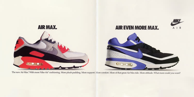 presenting on feet shots of best sneakers It's More Than Just AIR - A History of Nike's Air Max Technology ...