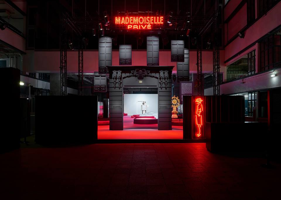 "Chanel's ""Mademoiselle Privé"" Exhibition Makes a Splash in Hong Kong"