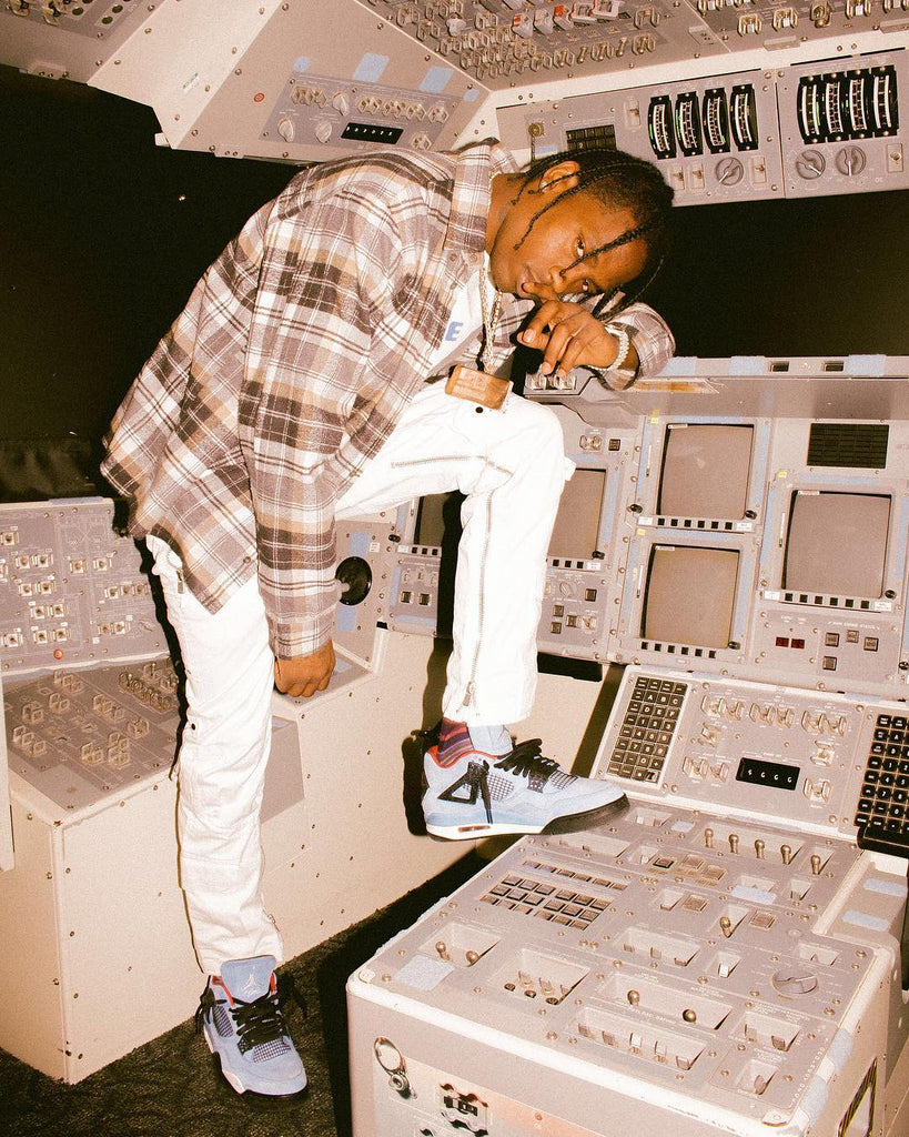 f305d66aa4d9a2 For a chance to purchase the Travis Scott x Air Jordan 4