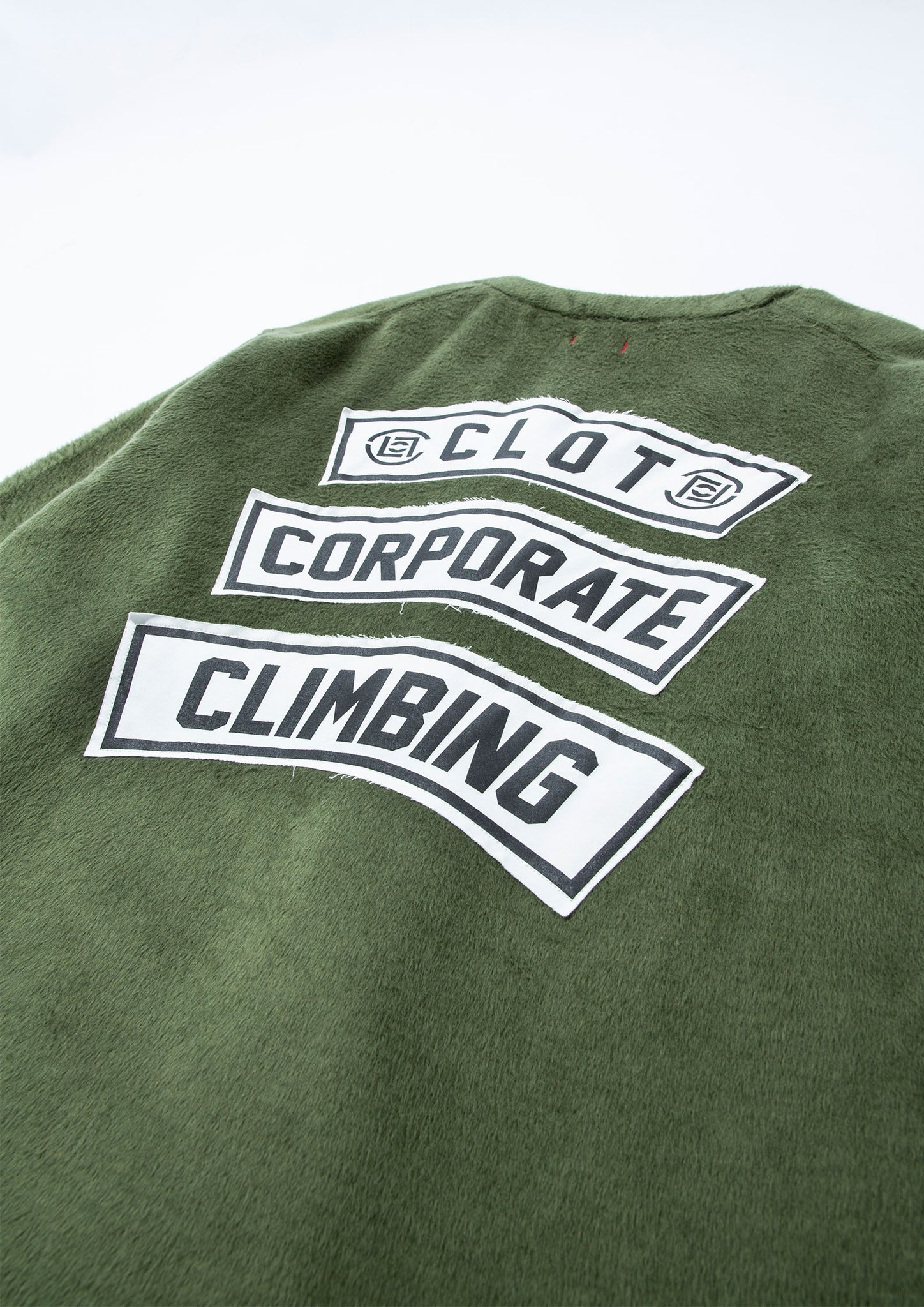 "CLOT REVERSIBLE BUTTON UP CARDIGAN FALL/WINTER 2020 ""CORPORATE CLIMBING"""