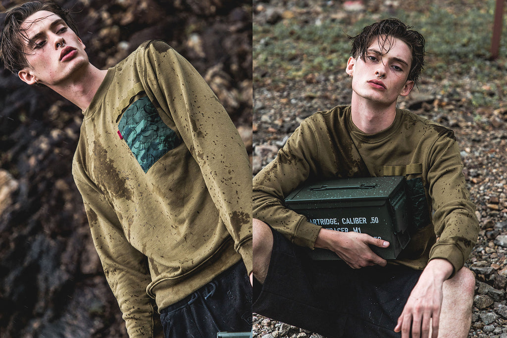 CLOT MILITARY CAPSULE COLLECTION EDITORIAL ARMY