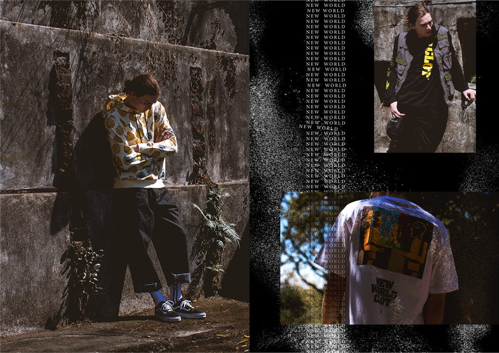 "CLOT ""NEW WORLD"" SS18"