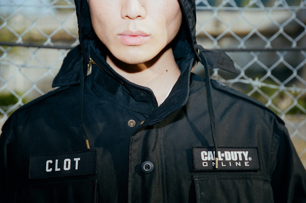 CLOT x CALL OF DUTY ONLINE ALPHA INDUSTRIES