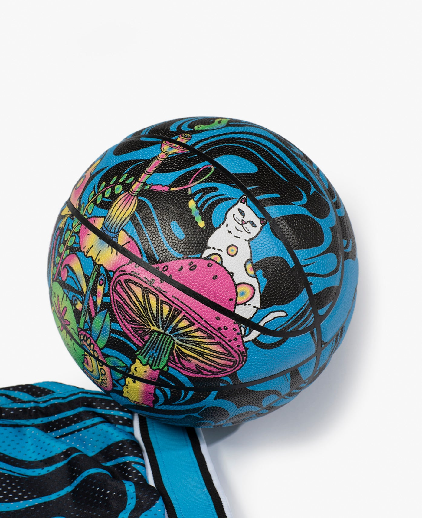 RIPNDIP FW20 Psychedelic Basketball Graphic