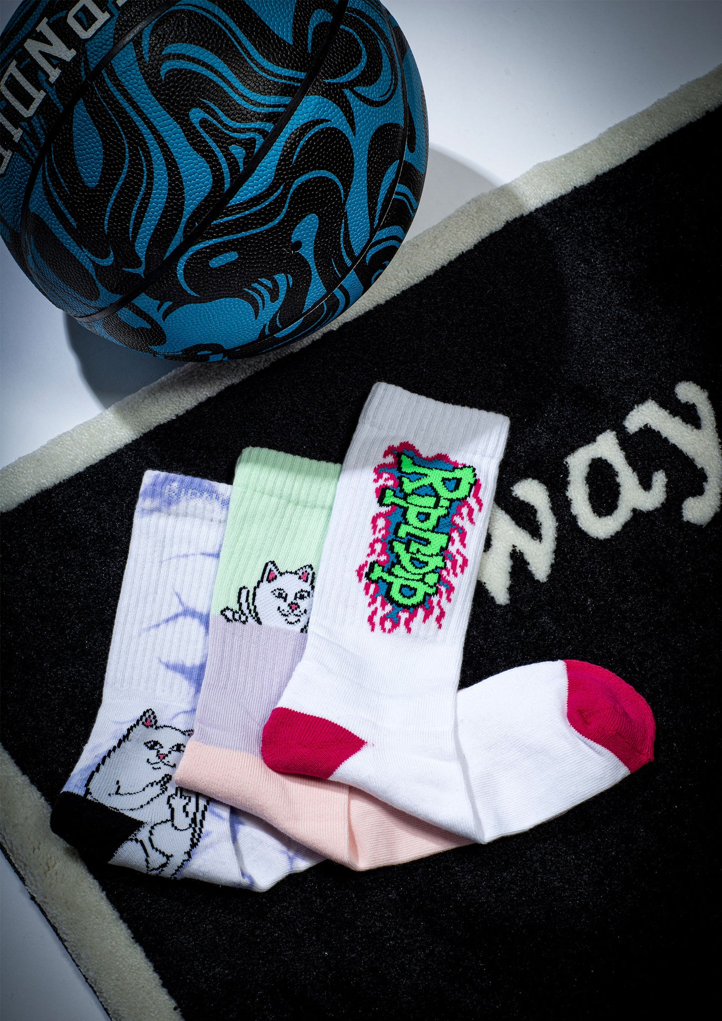 RIPNDIP FW20 socks close up