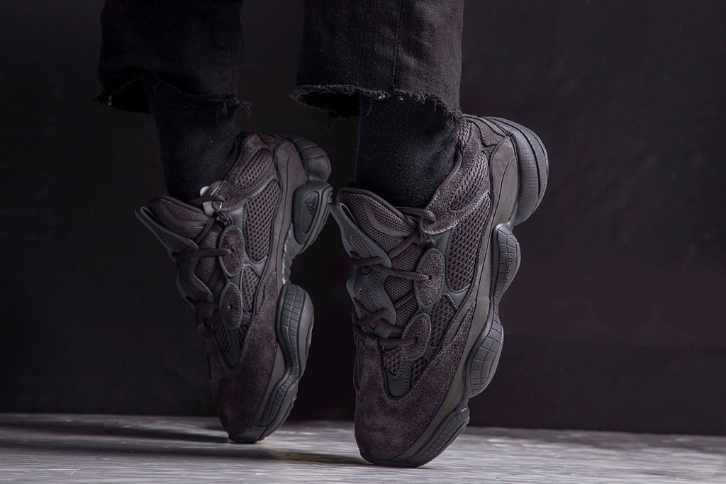 buy popular 347fd 7e3e9 adidas yeezy 500 black