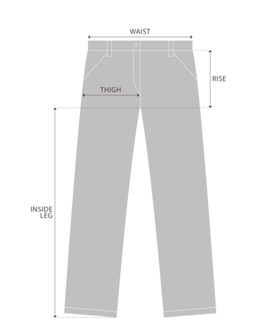 Trackpants Measurement