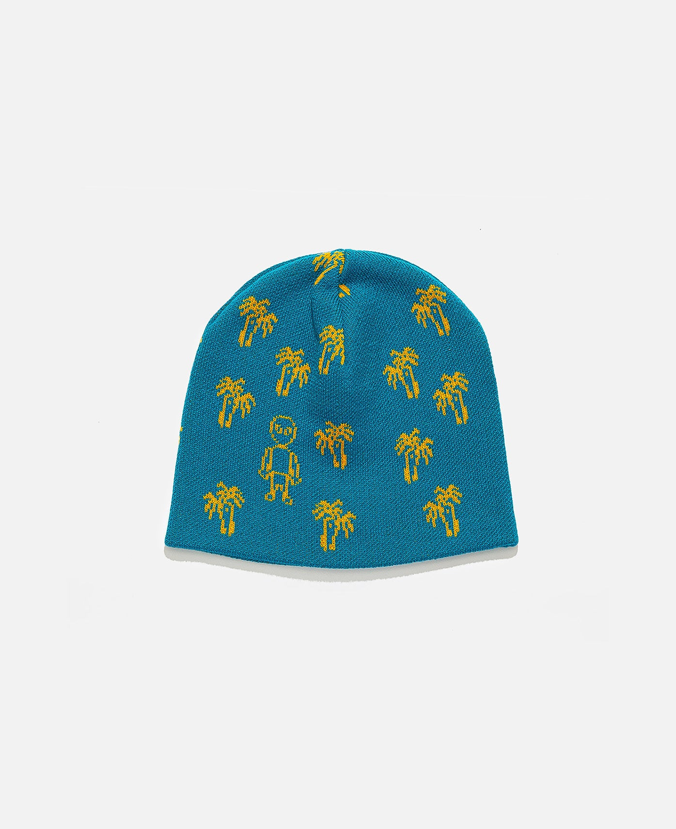 Tropical Pyramid Knit Beanie