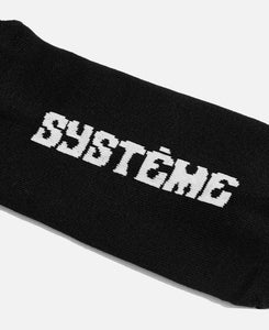 Systeme Logo Socks (Black)