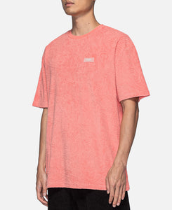 Topos Shaved Terry T-Shirt (Peach)