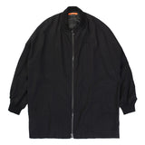 OVERSIZED MA-1 WOOL JACKET (BLACK)