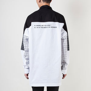 MACHINE GRID SHIRT