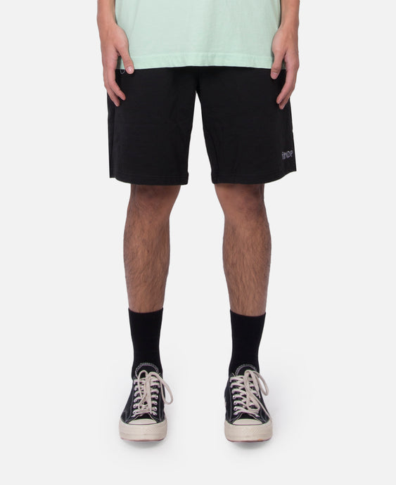 Peeking Nerm Sweat Shorts (Black)